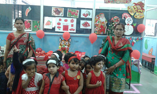 Red Day and Christmas Celebration