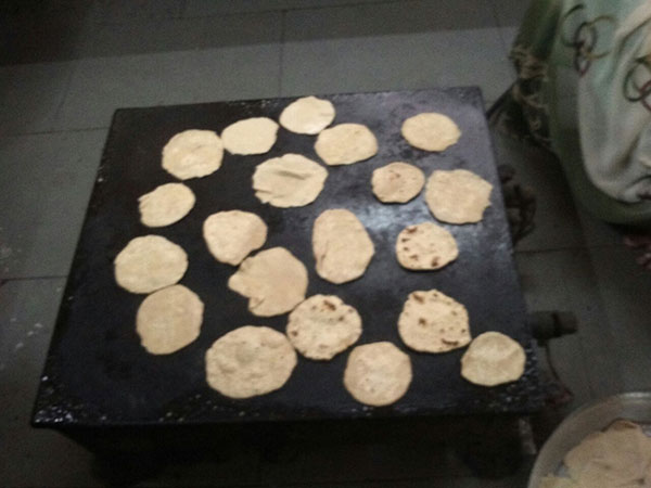Food Activity - Roti Making